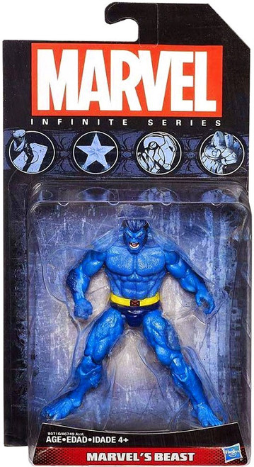 Marvel Avengers Infinite Series 4 Blue Beast Action Figure