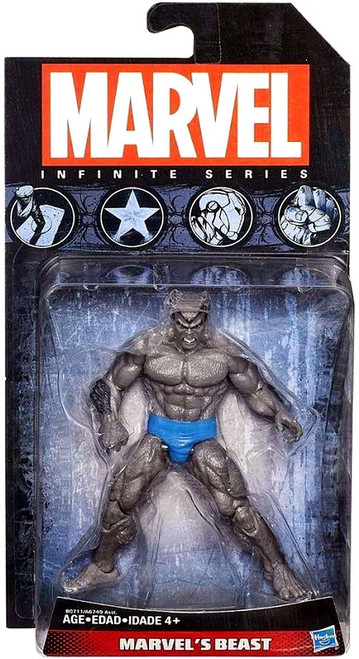 Marvel Avengers Infinite Series 4 Grey Beast Action Figure