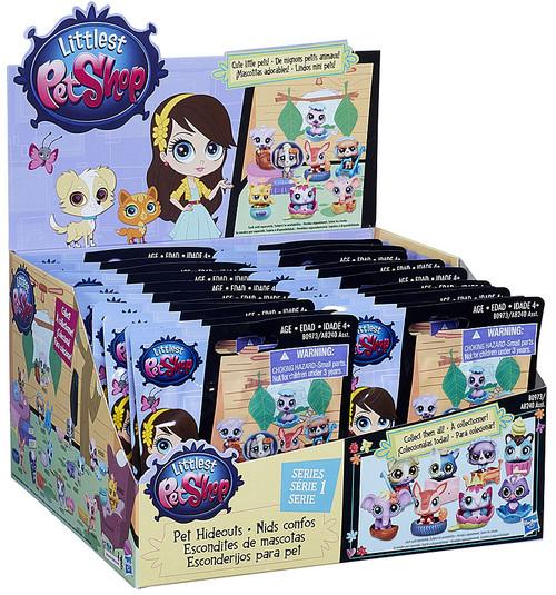 Littlest Pet Shop 2015 Series 1 Pet Hideouts Mystery Box [24 Packs]
