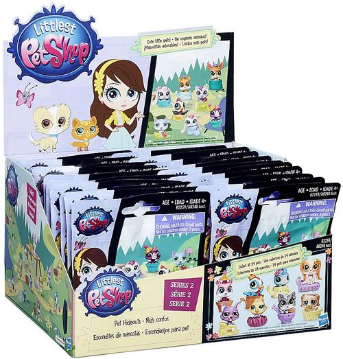 Littlest Pet Shop 2015 Series 2 Pet Hideouts Mystery Box [24 Packs]