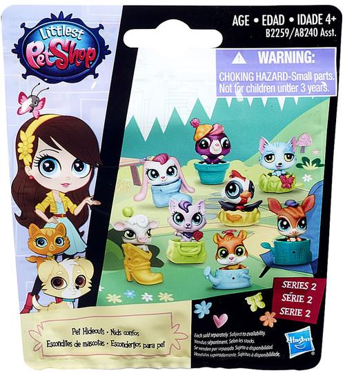Littlest Pet Shop 2015 Series 2 Pet Hideouts Mystery Pack