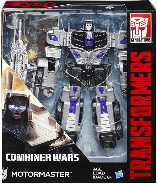 Transformers Generations Combiner Wars Motormaster Voyager Action Figure [Stunticon]