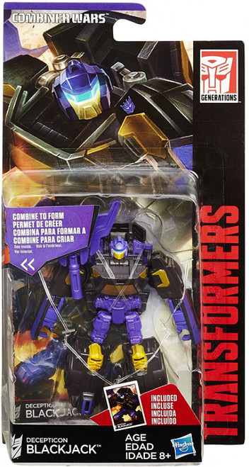 Transformers Generations Combiner Wars Decepticon Blackjack Legend Action Figure