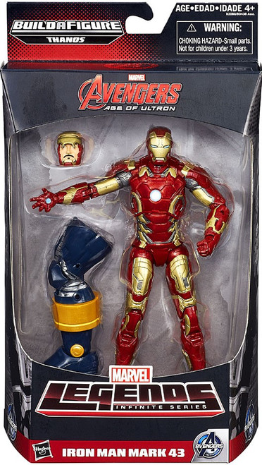 Marvel Legends Avengers Thanos Series Iron Man Mark 43 Action Figure