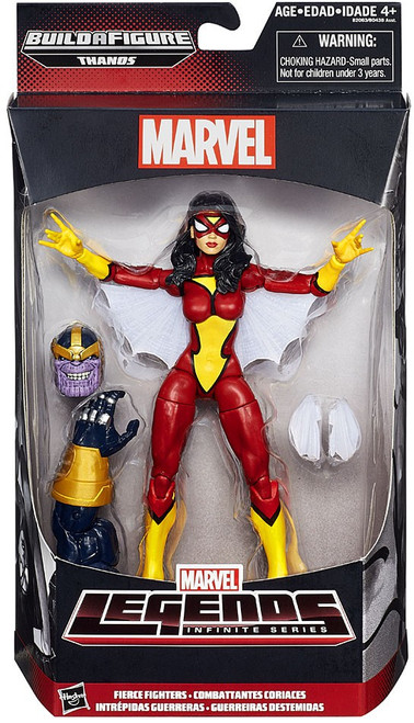 Marvel Legends Avengers Thanos Series Fierce Fighters Action Figure [Spider-Woman]
