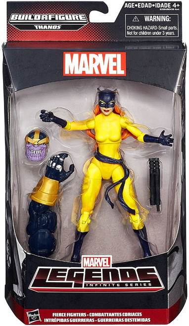 Marvel Legends Avengers Thanos Series Fierce Fighters Action Figure [Hellcat]