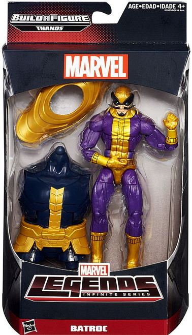 Marvel Legends Avengers Thanos Series Batroc Action Figure