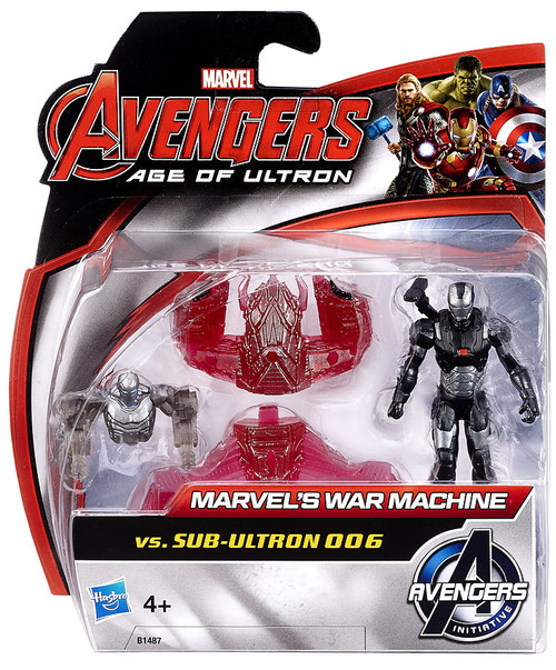 Avengers Age of Ultron Marvel's War Machine vs. Sub-Ultron 006 Action Figure 2-Pack
