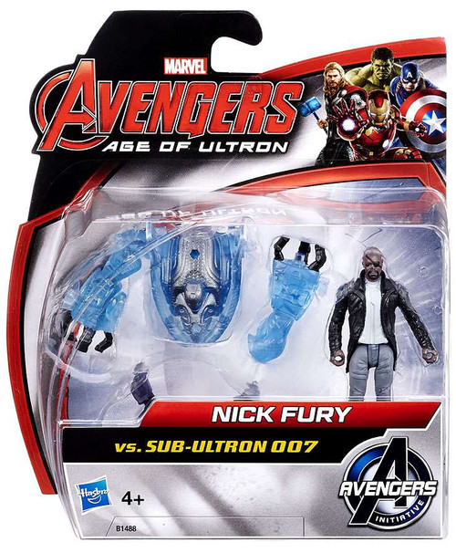 Marvel Avengers Age of Ultron Age of Ultron Nick Fury vs. Sub-Ultron 007 Action Figure 2-Pack