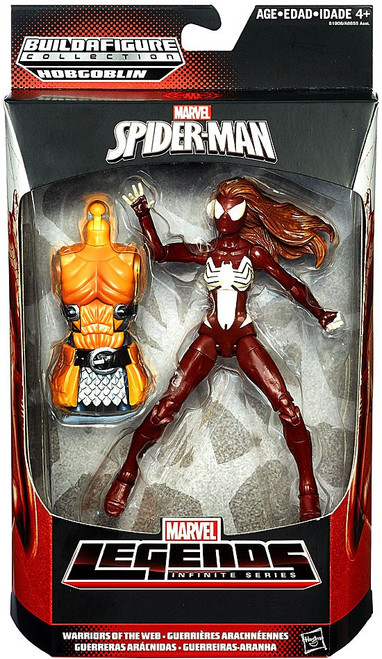 Spider-Man Marvel Legends Hobgoblin Series Spider-Woman Action Figure [Warriors of the Web]
