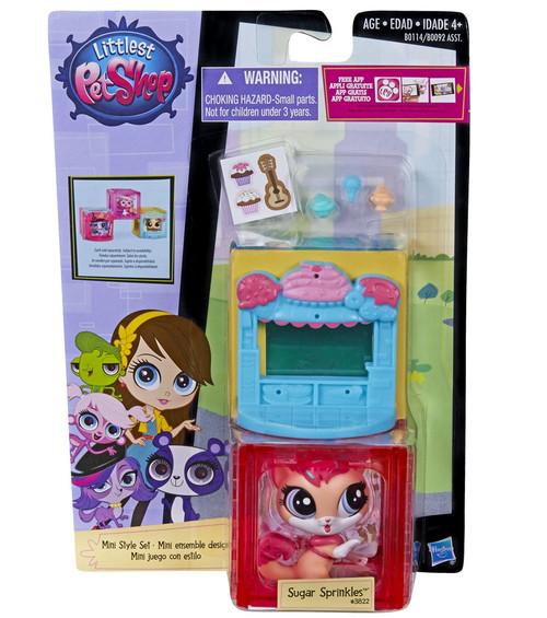 Littlest Pet Shop Mini Style Set Sugar Sprinkles Figure #3822