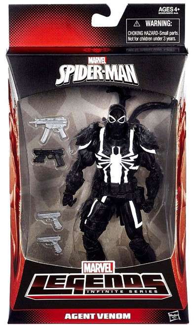 Spider-Man Marvel Legends Infinite Series Agent Venom Exclusive Action Figure