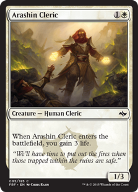 MtG Fate Reforged Common Arashin Cleric #5