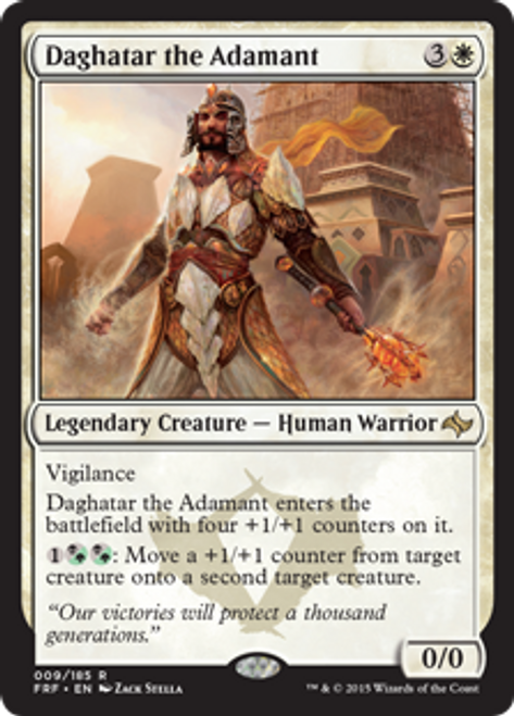MtG Fate Reforged Rare Daghatar the Adamant #9