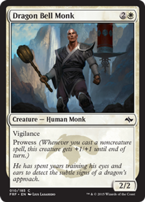 MtG Fate Reforged Common Dragon Bell Monk #10