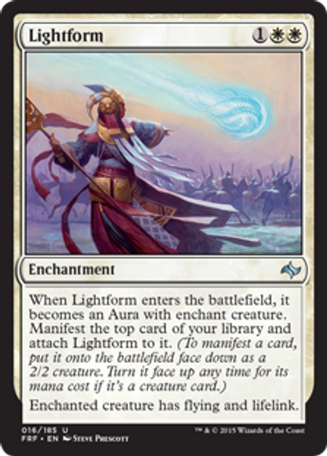 MtG Fate Reforged Uncommon Lightform #16