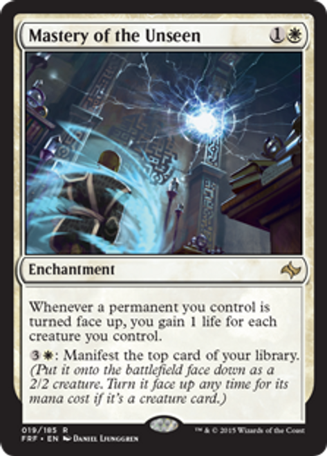MtG Fate Reforged Rare Mastery of the Unseen #19
