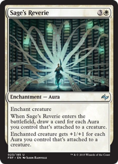 MtG Fate Reforged Uncommon Sage's Reverie #23