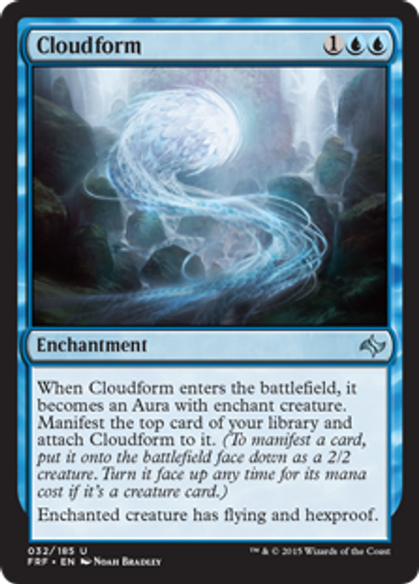 MtG Fate Reforged Uncommon Cloudform #32