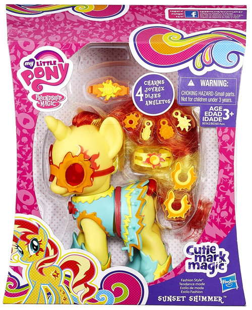 My Little Pony Friendship is Magic Cutie Mark Magic Sunset Shimmer Figure [Fashion Style]