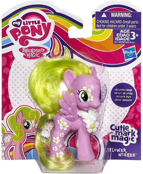 My Little Pony Friendship is Magic Cutie Mark Magic Flower Wishes Figure