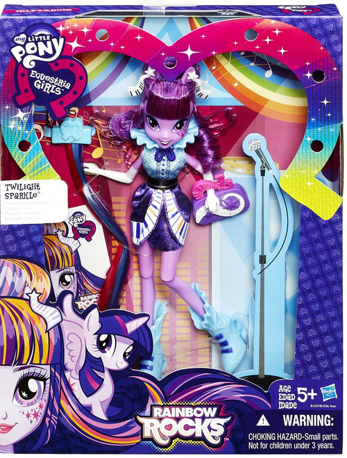 My Little Pony Equestria Girls Rainbow Rocks Twilight Sparkle Doll [Rockin' Hairstyle]