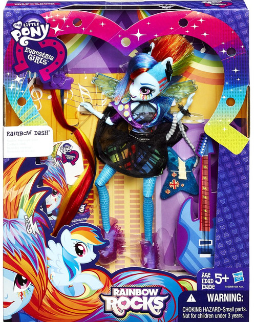 My Little Pony Equestria Girls Rainbow Rocks Rainbow Dash Doll [Rockin' Hairstyle]