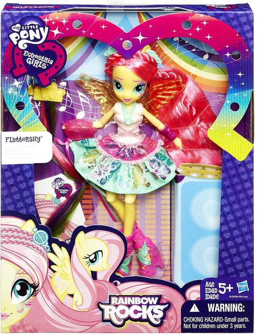 My Little Pony Equestria Girls Rainbow Rocks Fluttershy Doll [Rockin' Hairstyle]
