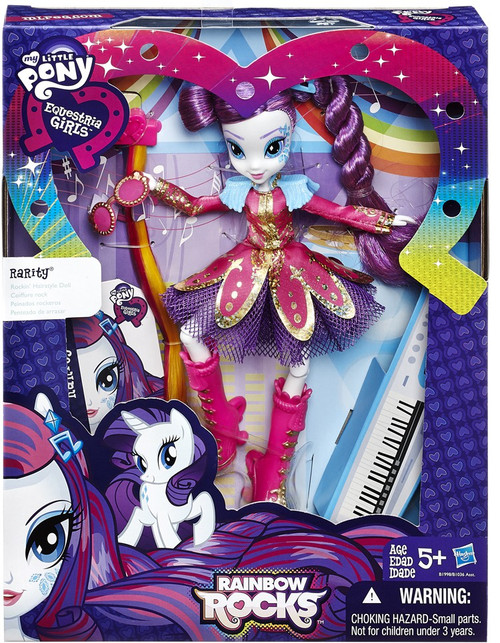 My Little Pony Equestria Girls Rainbow Rocks Rarity Doll [Rockin' Hairstyle]