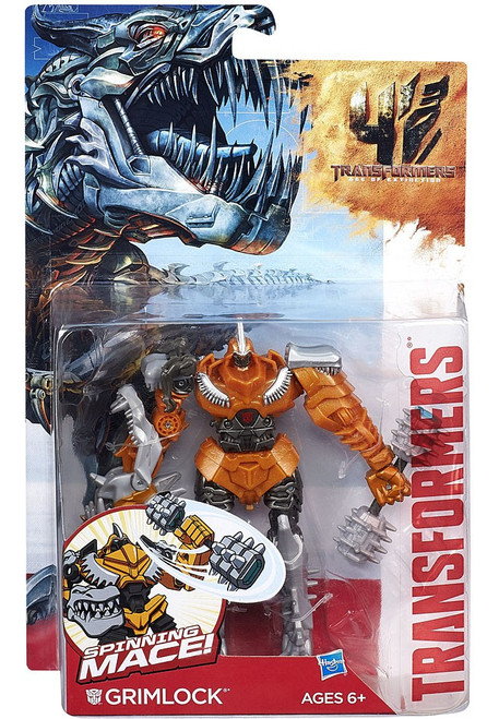 Transformers Age of Extinction Power Battler Grimlock Action Figure