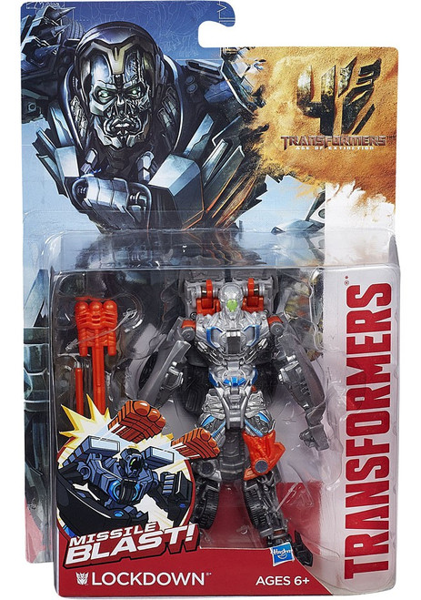 Transformers Age of Extinction Power Battler Lockdown Action Figure