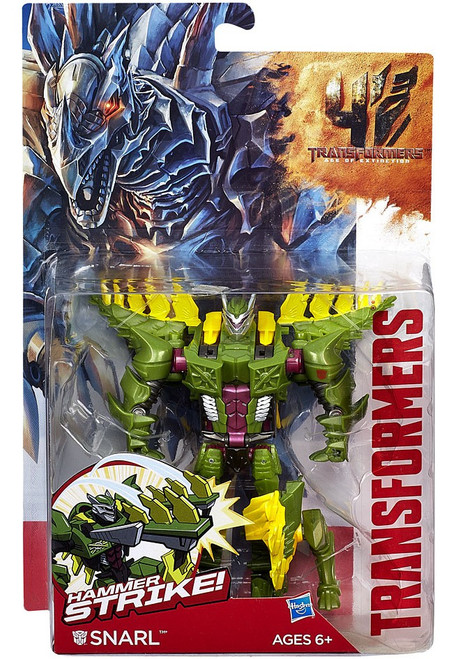 Transformers Age of Extinction Power Battler Snarl Action Figure