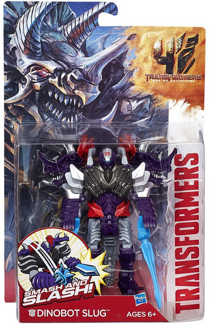 Transformers Age of Extinction Power Battler Slug Action Figure