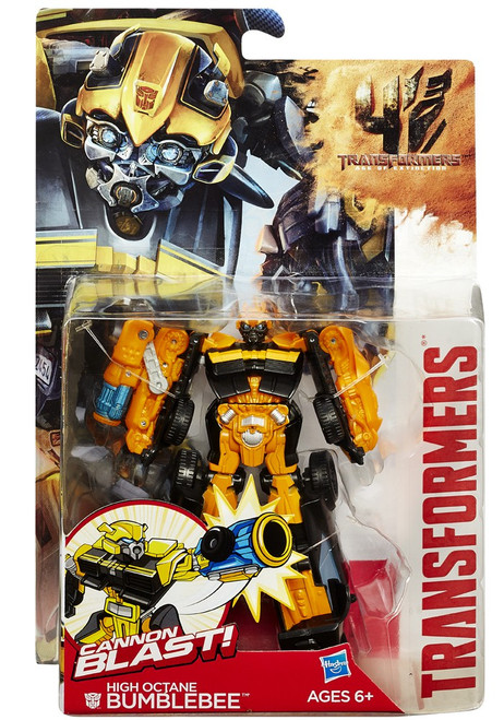 Transformers Age of Extinction Power Battler High Octane Bumblebee Action Figure