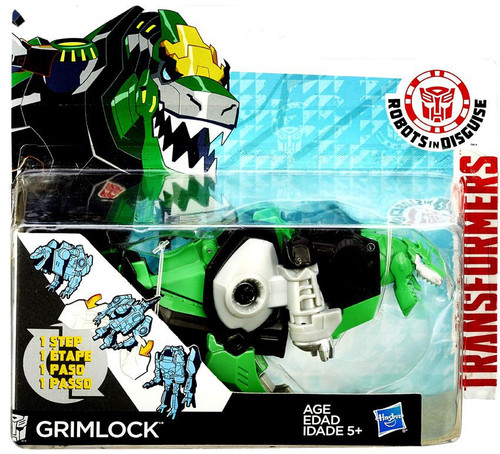 "Transformers Robots in Disguise 1 Step Changers Grimlock 5"" Action Figure"