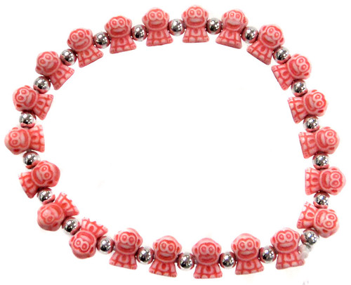 Monkeyz Red Monkeys Bracelet