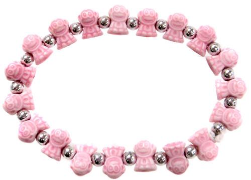 Monkeyz Pink Monkeys Bracelet