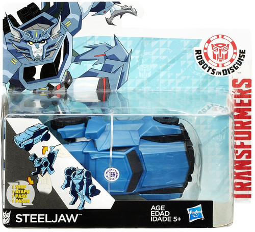 """Transformers Robots in Disguise 1 Step Changers Steeljaw 5"""" Action Figure"""
