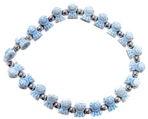 Monkeyz Blue Monkeys Bracelet