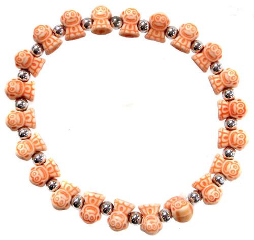 Monkeyz Orange Monkeys Bracelet