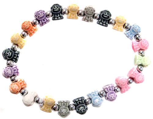 Monkeyz Rainbow Monkeys Bracelet