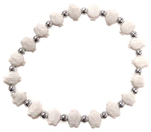 Owlz White Owls Bracelet
