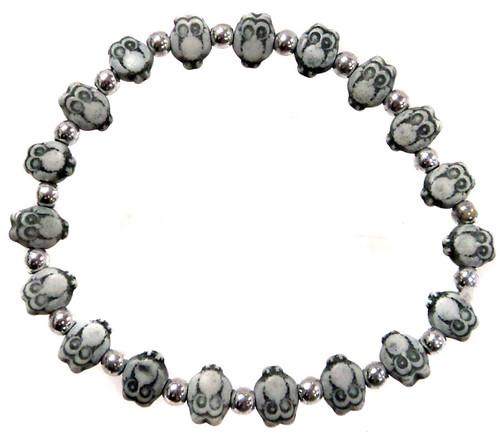 Owlz Black Owls Bracelet