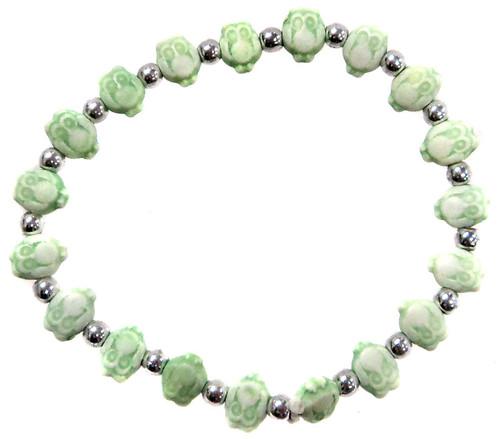 Owlz Green Owls Bracelet