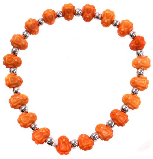 Penguinz Orange Penguins Bracelet