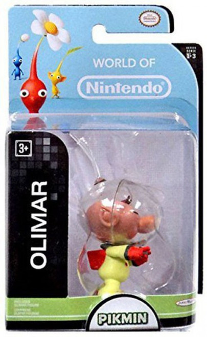 World of Nintendo Pikmin Captain Olimar 2.5-Inch Mini Figure
