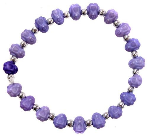 Penguinz Purple Penguins Bracelet