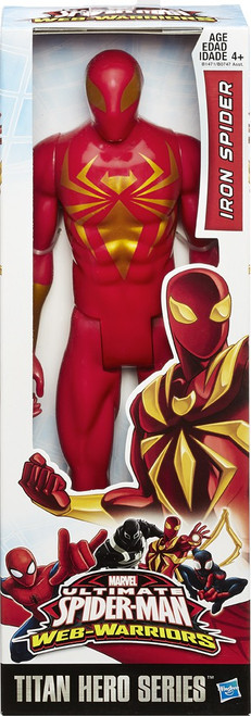 Ultimate Spider-Man Web-Warriors Titan Hero Series Iron Spider Action Figure