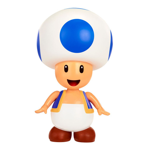 World of Nintendo Super Mario Series 2 Toad Action Figure [With Coin]