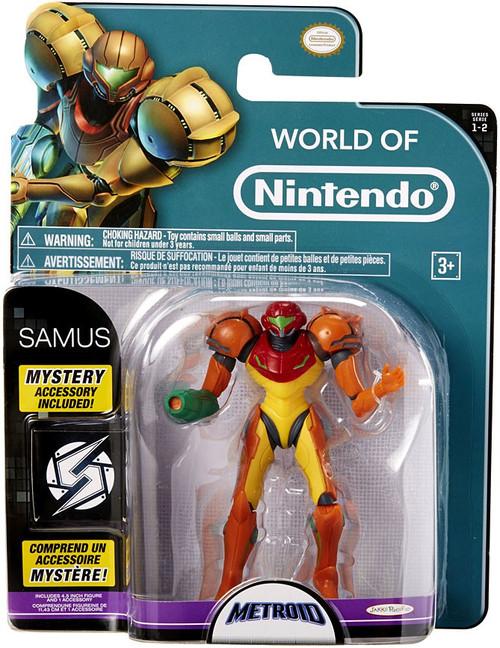 World of Nintendo Metroid Series 2 Samus Action Figure
